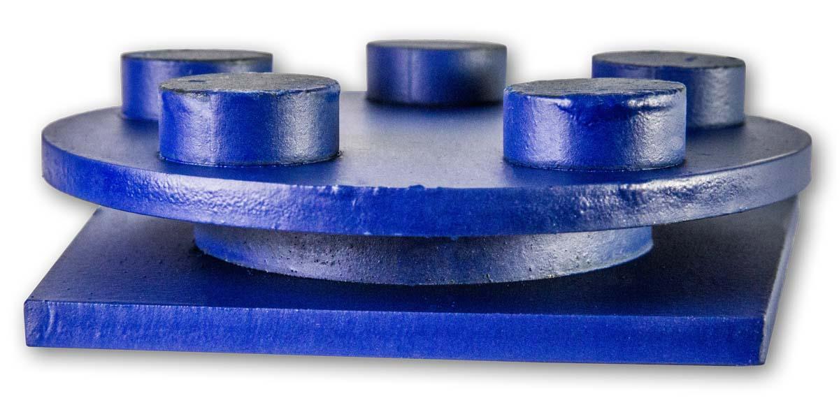 Алмазные франкфурты по бетону для мозаично-шлифовальных машин типа GM